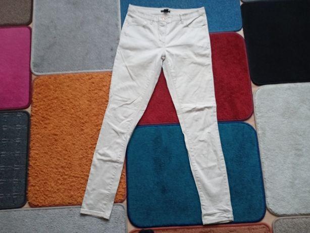 Spodnie rurki damskie, roz 38