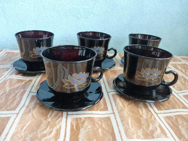 Набор кофейный, чайный на 5 персон