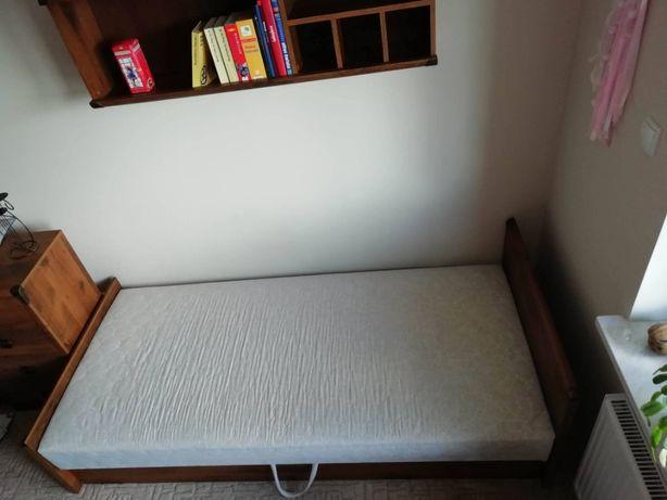 Łóżko Black Red White w okleinie dębowej