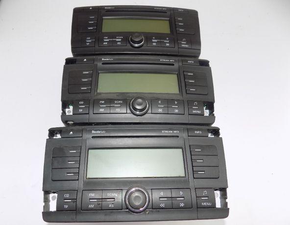 Radio fabryczne CD MP3 Stream Skoda Octavia II 2