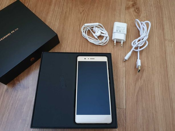 Huawei p9 lite dourado + acessórios