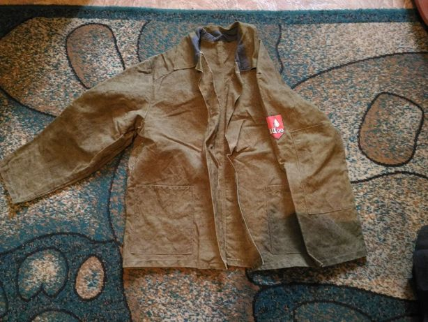 куртка сварщица брезентовая роба