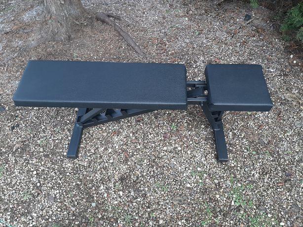 Ławka ławeczka do ćwiczeń, na siłownię, regulowana, solidna.