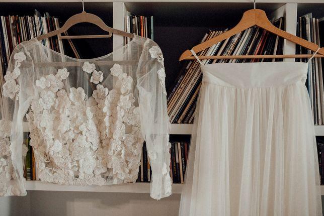 Suknia ślubna - projekt indywidualny - Sylwia Kopczyńska - XS