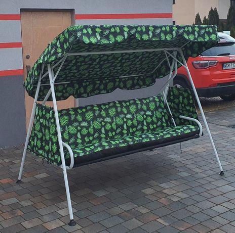 Huśtawka ogrodowa - Zestaw poduszek i daszek - Maskpol
