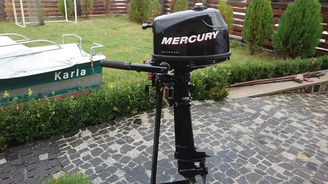Mercury 4.5 меркури чотири такти