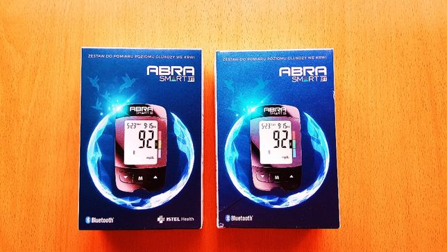 ABRA Smart BT Bluetooth Glukometr + Opaska na ręke Gratis ! Nowy