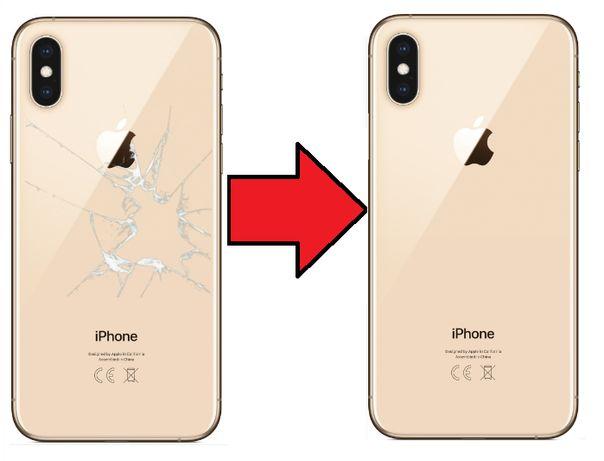 Tylna klapka plecki iPhone 8 8 Plus Xr X Xs z wymianą