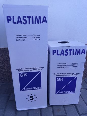 Folia do sianokiszonek Plastima 500mm i 750mm kraj pochodzenia -Niemcy