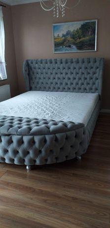 Stylowe łóżko glamour!