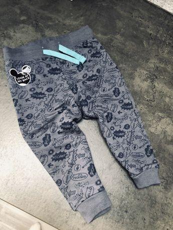 Spodnie dresowe chłopięce Disney tygrysek nowe 80