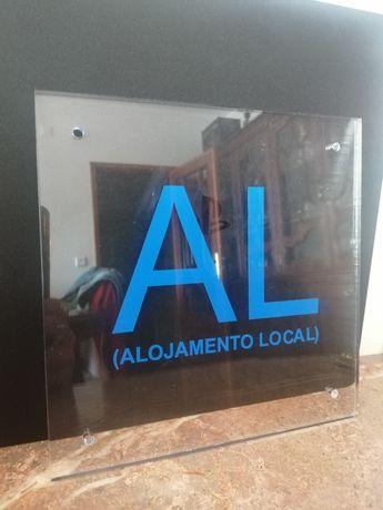 Placa AL (Alojamento Local)