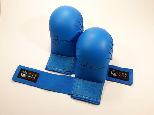 Накладки (перчатки) для каратэ Tokaido WKF Approved синие Размер М