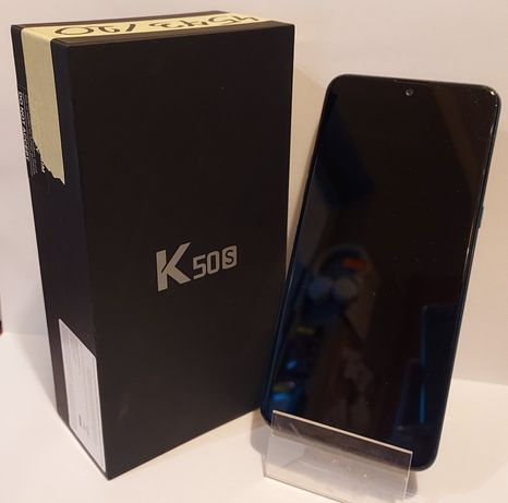 (4573/20) Telefon LG K50S blue, pudełko, GWARANCJA 05.02.2022r