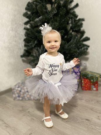 Платье на новый год для девочки
