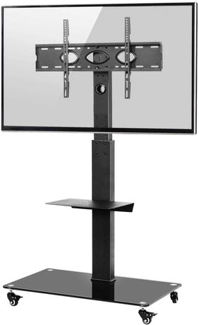 OUTLET - mobilny stojak uchwyt na tv telewizor na kółkach 37-70''