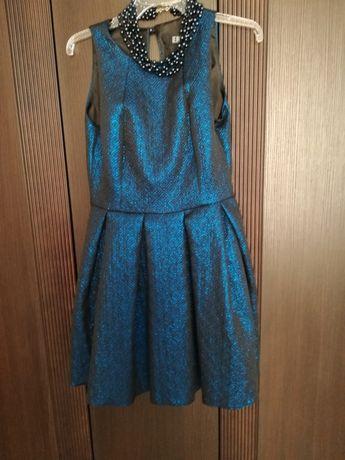 Granatowa sukienka rozmiar 36