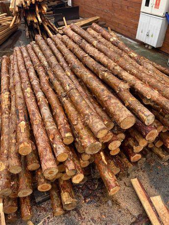 Drewniane stemple budowlane 2,5 m 200 szt.