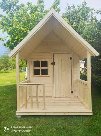 Domek dla dzieci ,drewniany do ogrodu, dostępny od reki