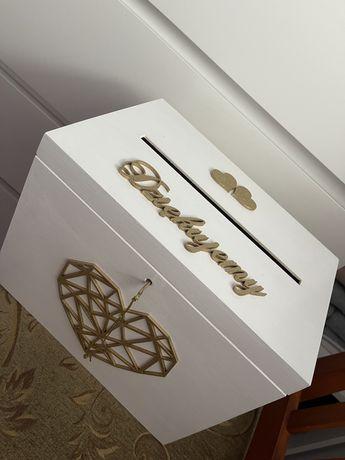 Pudełko Skrzynka Na Koperty Biała