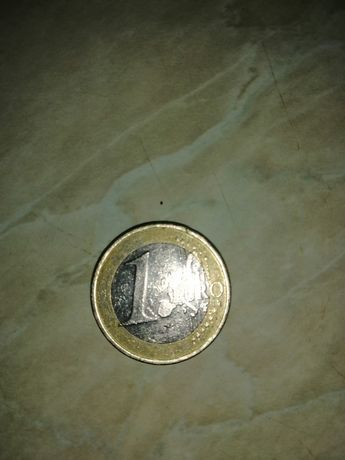 Монета 1 евро 2002 года