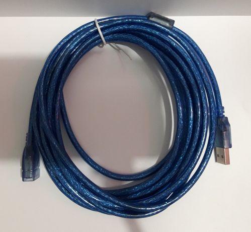кабель usb 2.0 am af удлинитель 5м