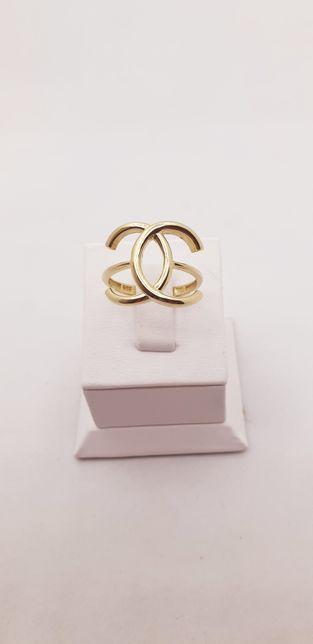 Złoto złoty pierścionek próba 585 waga 2.80 g rozmiar 16