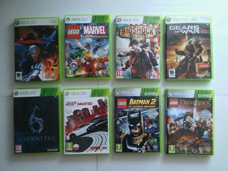 Most Wanted LEGO Batman 2 Władca Pierścieni Marve Super Bioshock Xbox