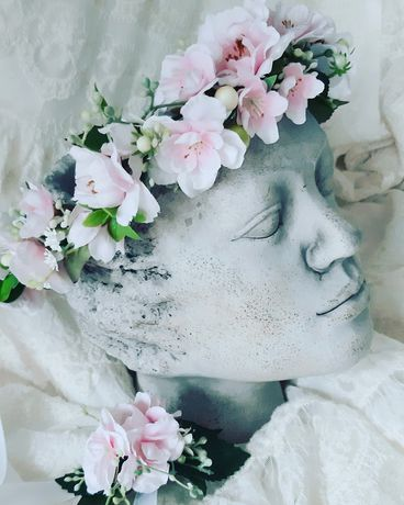 Wianuszek wianek kwiat jabłoni