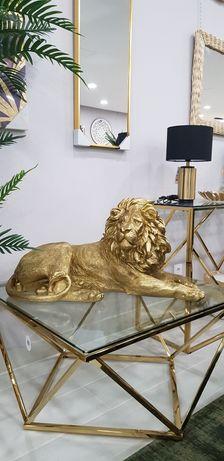 GRANDE Estatueta Leão de Resina - 80X35X40cm by Arcoazul Design