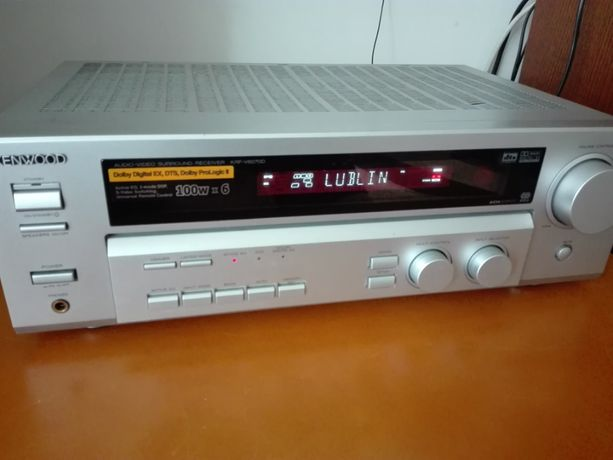 Amplituner kino domowe KENWOOD mocny KRF-V6070D