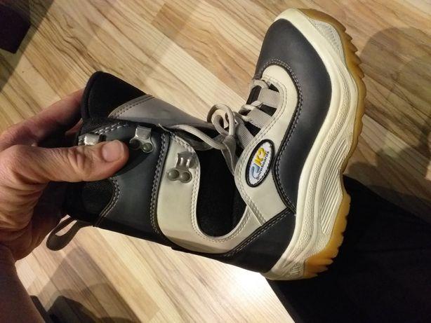 Dziecięce buty snowboardowe 23cm