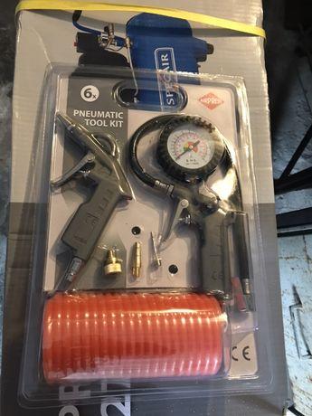 Zestaw 6 akcesoriów pneumatycznych