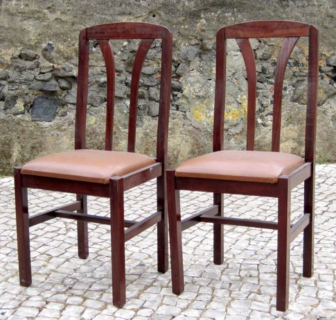 Cadeiras Queen Anne