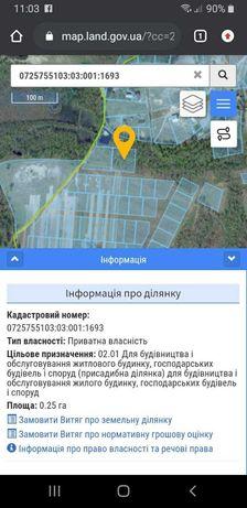 Земельна ділянка с. Мельники Шацького р-ну