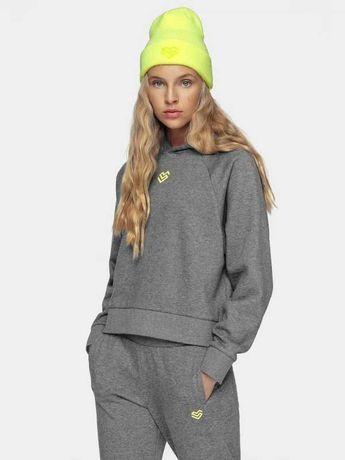 4F bluza S/36 szara damska Softshell swetr bluzka kardigan kurtka