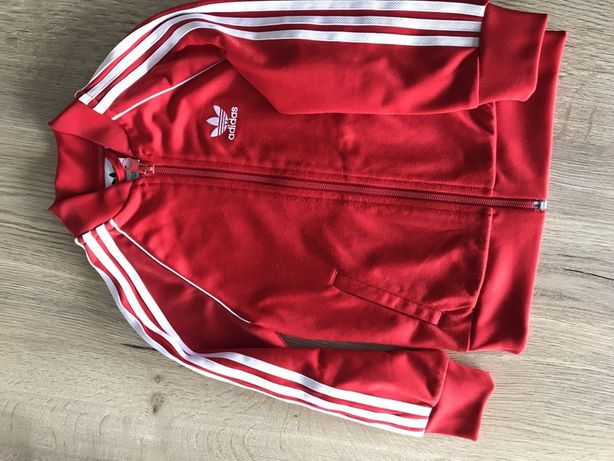 Zestaw, bluza spodnie, dres Adidas rozmiar 104