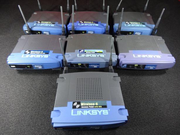 Lote Ponto de Acesso Wireless Linksys WAP54G