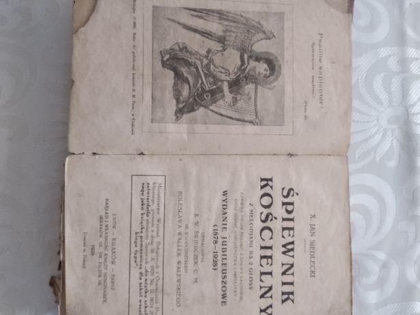 Antyk Śpiewnik kościelny 1928 Ks.Siedlecki