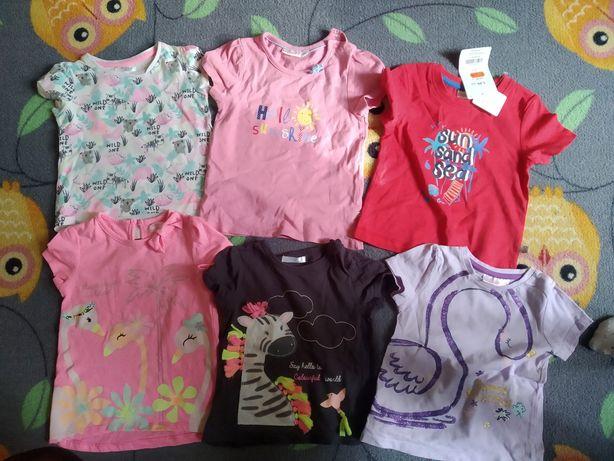 Bluzeczki dla dziewczynki 86