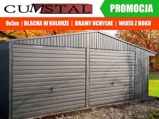 Garaż Blaszany Grafitowy , garaże blaszenie , wiaty , hale, Cumstal
