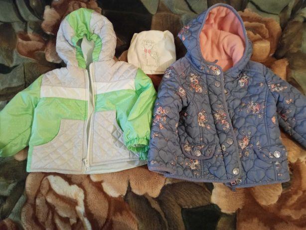 Куртки детские на 1.3-2.3 года 100 грн каждая, весна