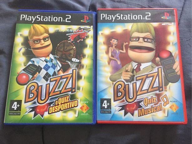 Jogos Buzz Ps2