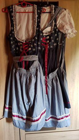 Sukienka Strój Dirndl rozmiar 36 38 40 oraz 46 Oktoberfest i nie tylko