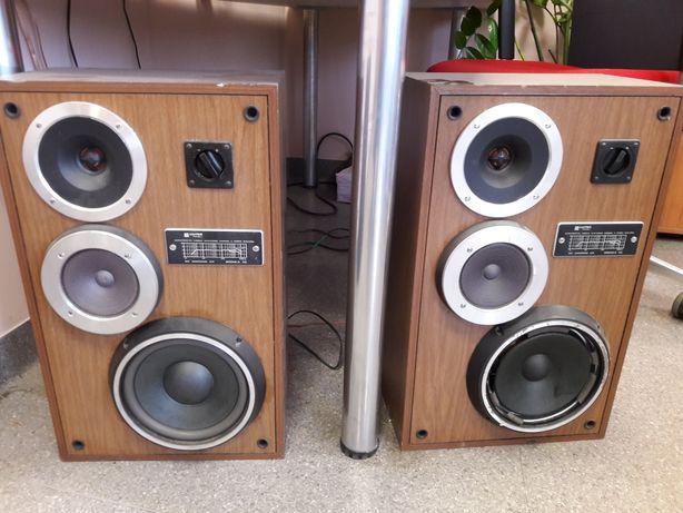 Wieża Hi-Fi Kolumny głośniki, ampli-tuner odtwarzacz CD