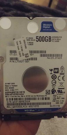 """Dysk WD Blue 500GB 2.5"""" nowy"""