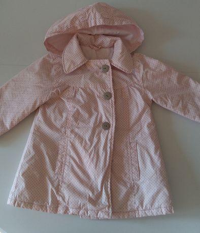 Płaszcz z podszewką 9-12 miesięcy