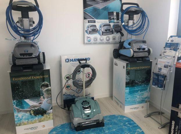 Z3i robo limpeza piscina automatico. liga ao telemovel matronics