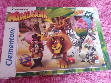 Puzzle maxi clementoni 104 elementy, Madagaskar