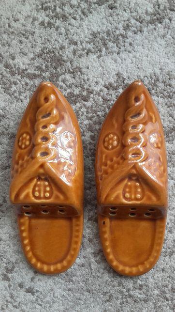 Buty ceramika ozdobne do powieszenia